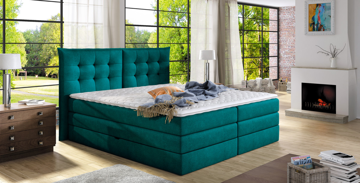 Postel Wersal Boxspring Fendy (140)
