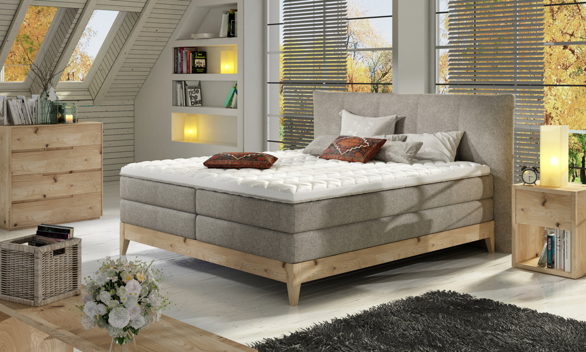Postel Boxspring Forest (180)
