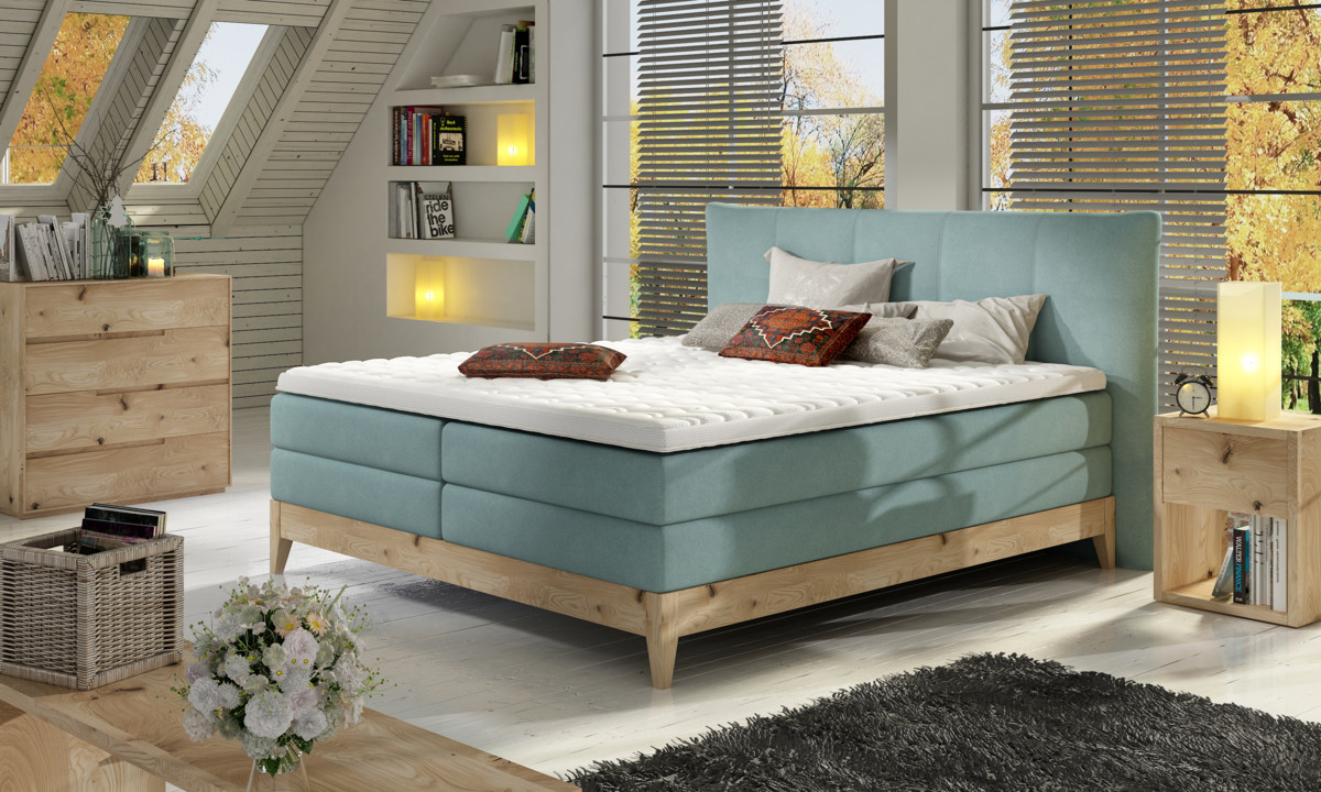 Postel Boxspring Forest (160)
